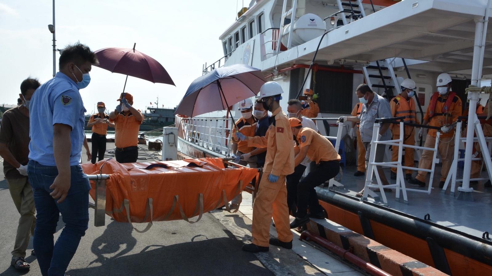 Tìm thấy thi thể thuyền viên vụ tàu Khang Anh 189 mất tích trên biển Vũng Tàu