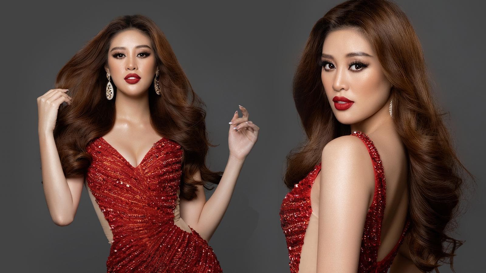 """Hoa hậu Khánh Vân: Tôi đến với Miss Universe trong tâm thế tự tin và """"cháy"""" hết mình"""