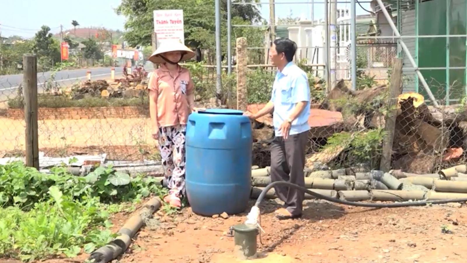 Cuộc sống người dân Đắk Mil chật vật vì thiếu nước sinh hoạt
