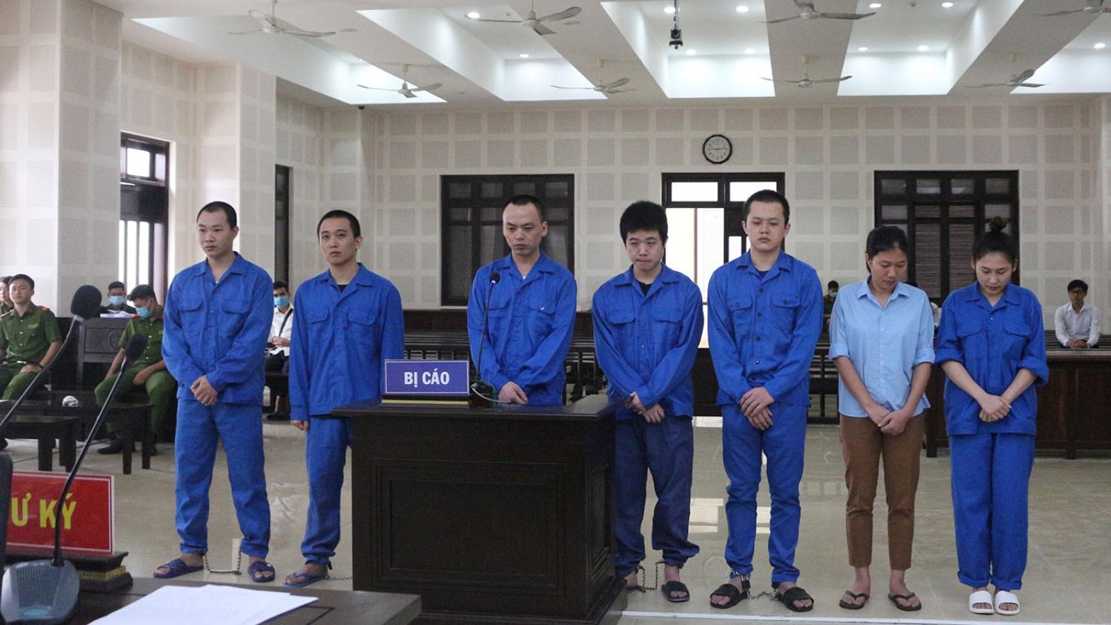 Xét xử nhóm 7 người tổ chức cho người Trung Quốc nhập cảnh trái phép