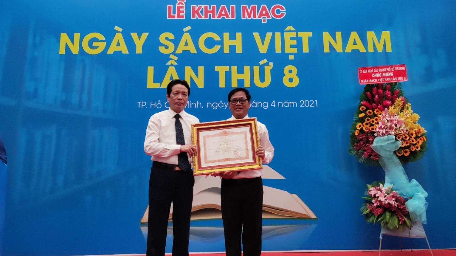 Khai mạc Ngày sách Việt Nam lần thứ 8 tại TPHCM