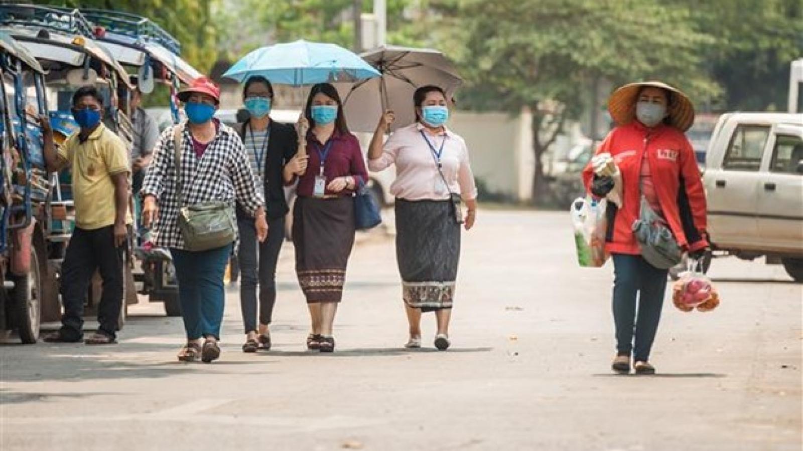 Lào ghi nhận thêm ca mắc Covid-19 nội địa