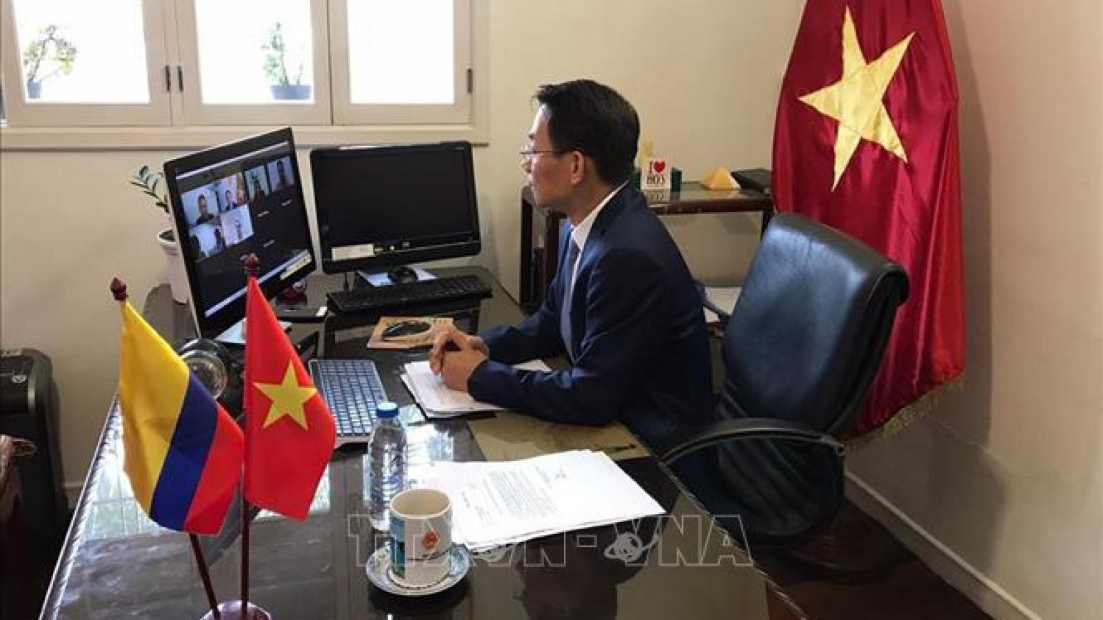 Vietnam, Colombia seek stronger economic and trade ties