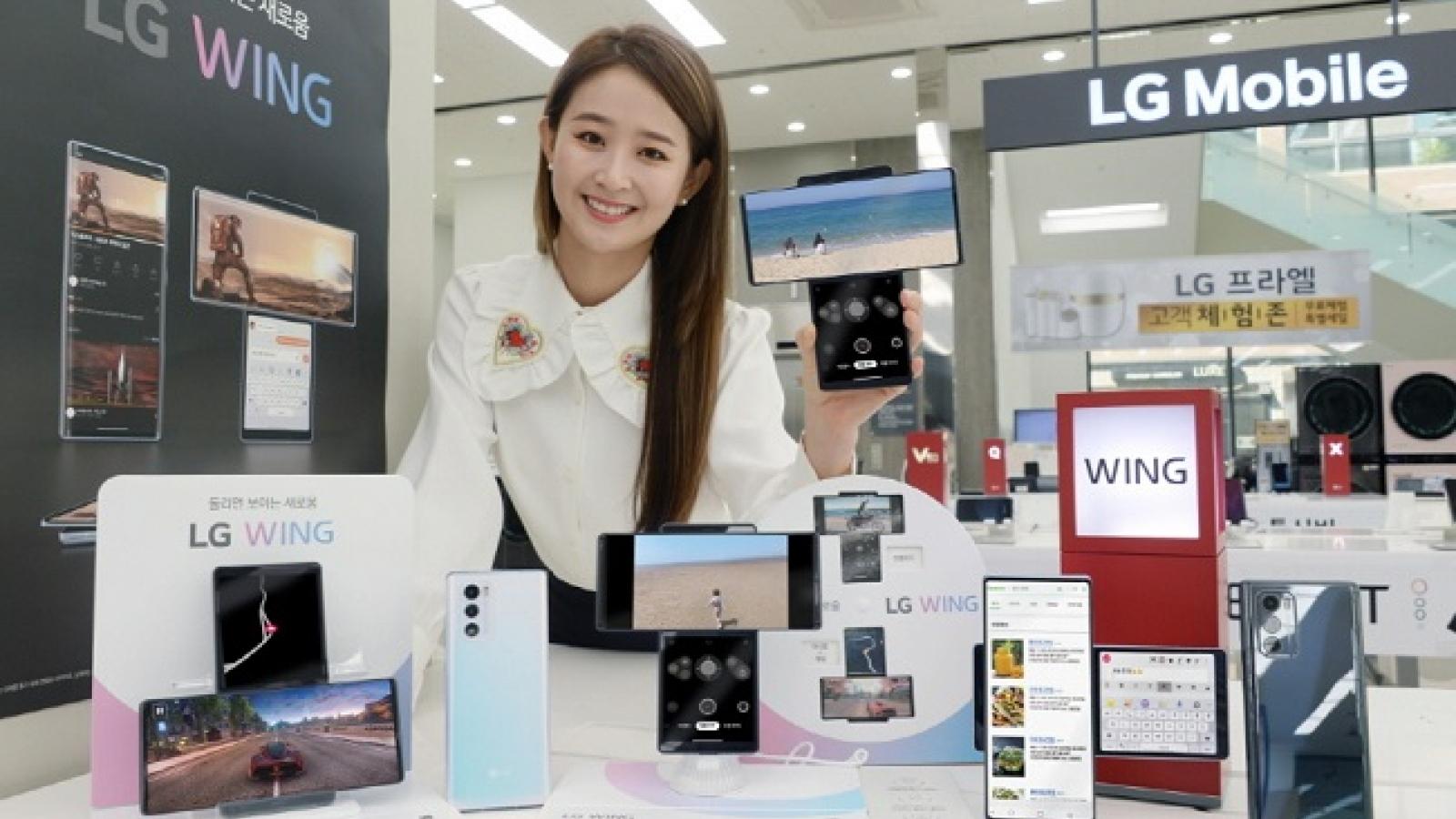 LG rút hoàn toàn thương hiệu điện thoại thông minh ra khỏi thị trường