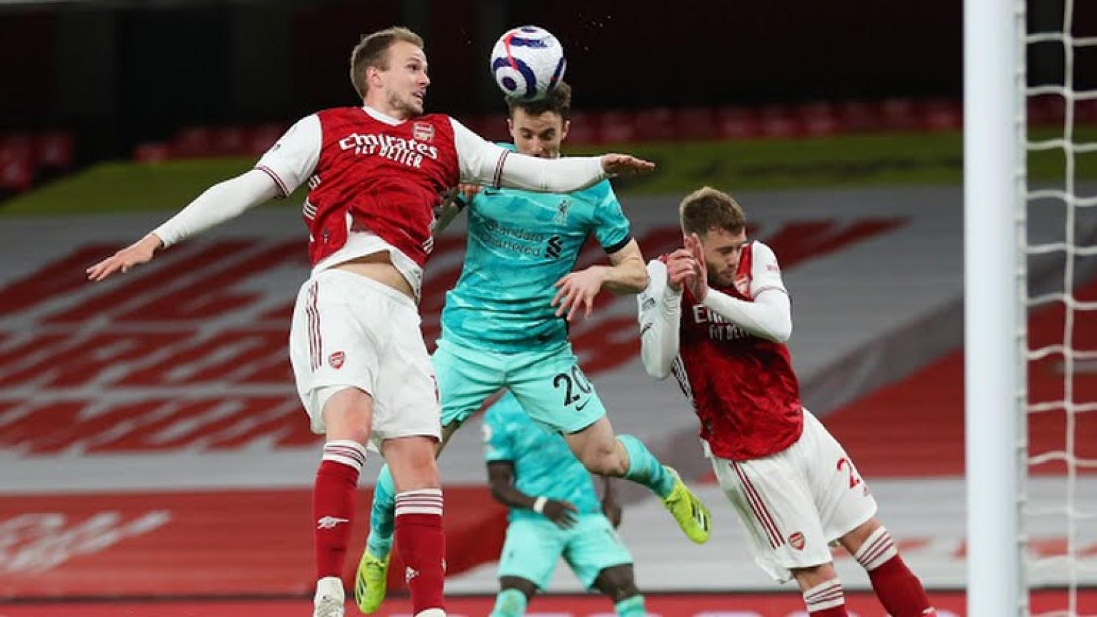 Diogo Jota rực sáng, Liverpool hủy diệt Arsenal tại Emirates