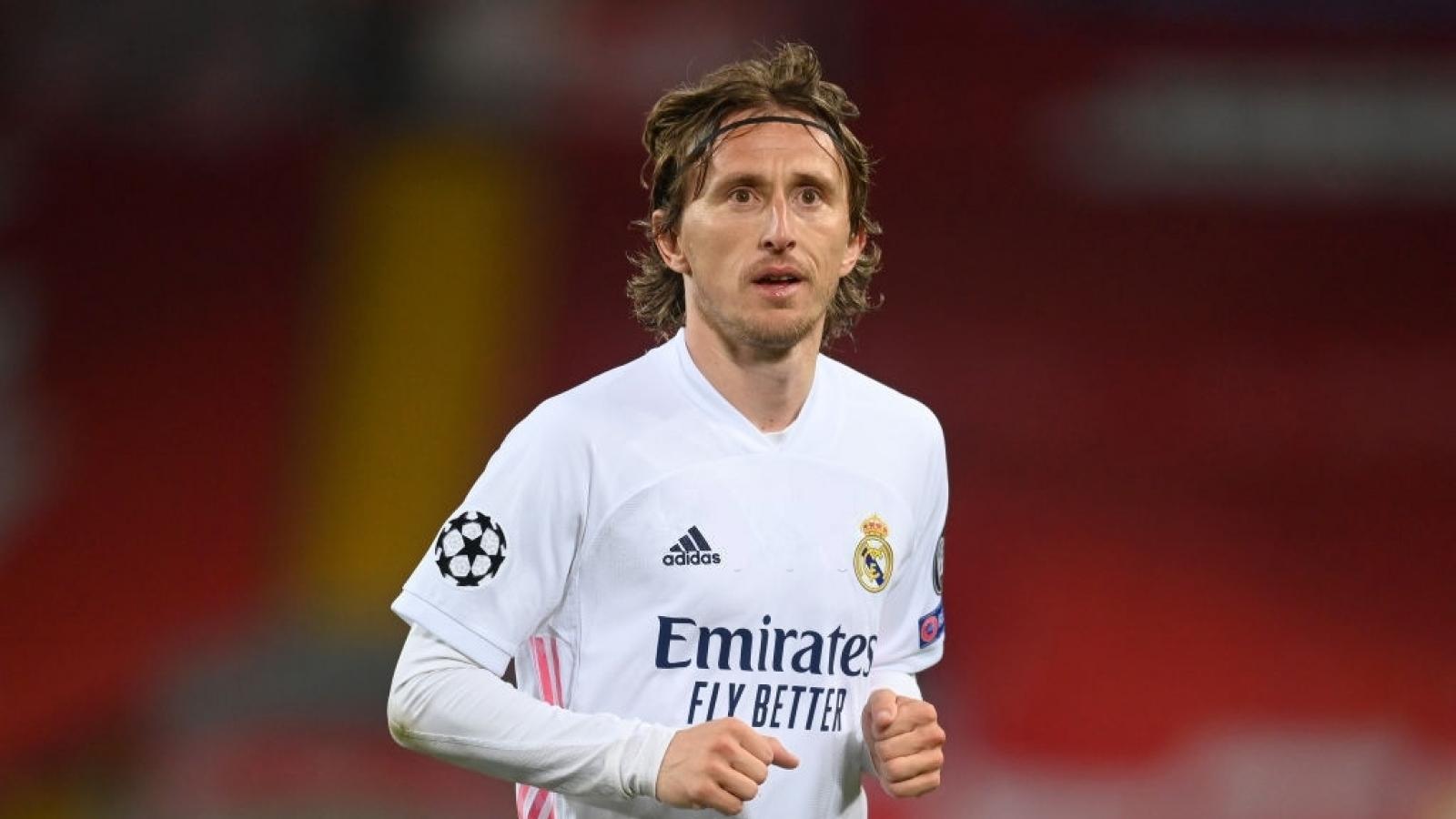 Luka Modric đồng ý gia hạn hợp đồng với Real Madrid