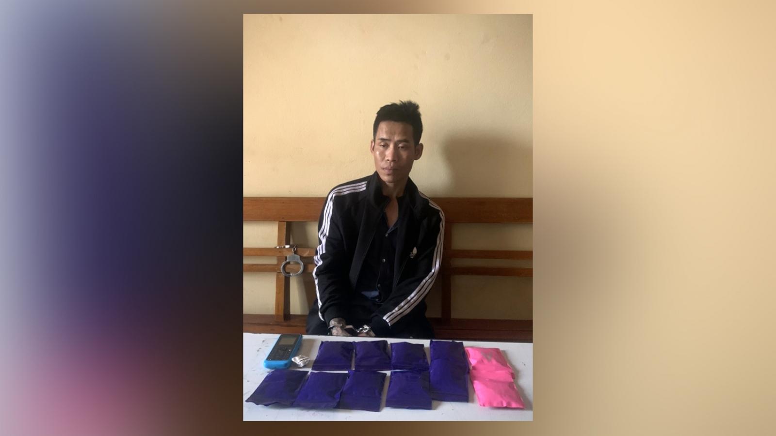 Bộ đội Biên phòng Sơn La liên tiếp bắt các đối tượng mua bán ma túy