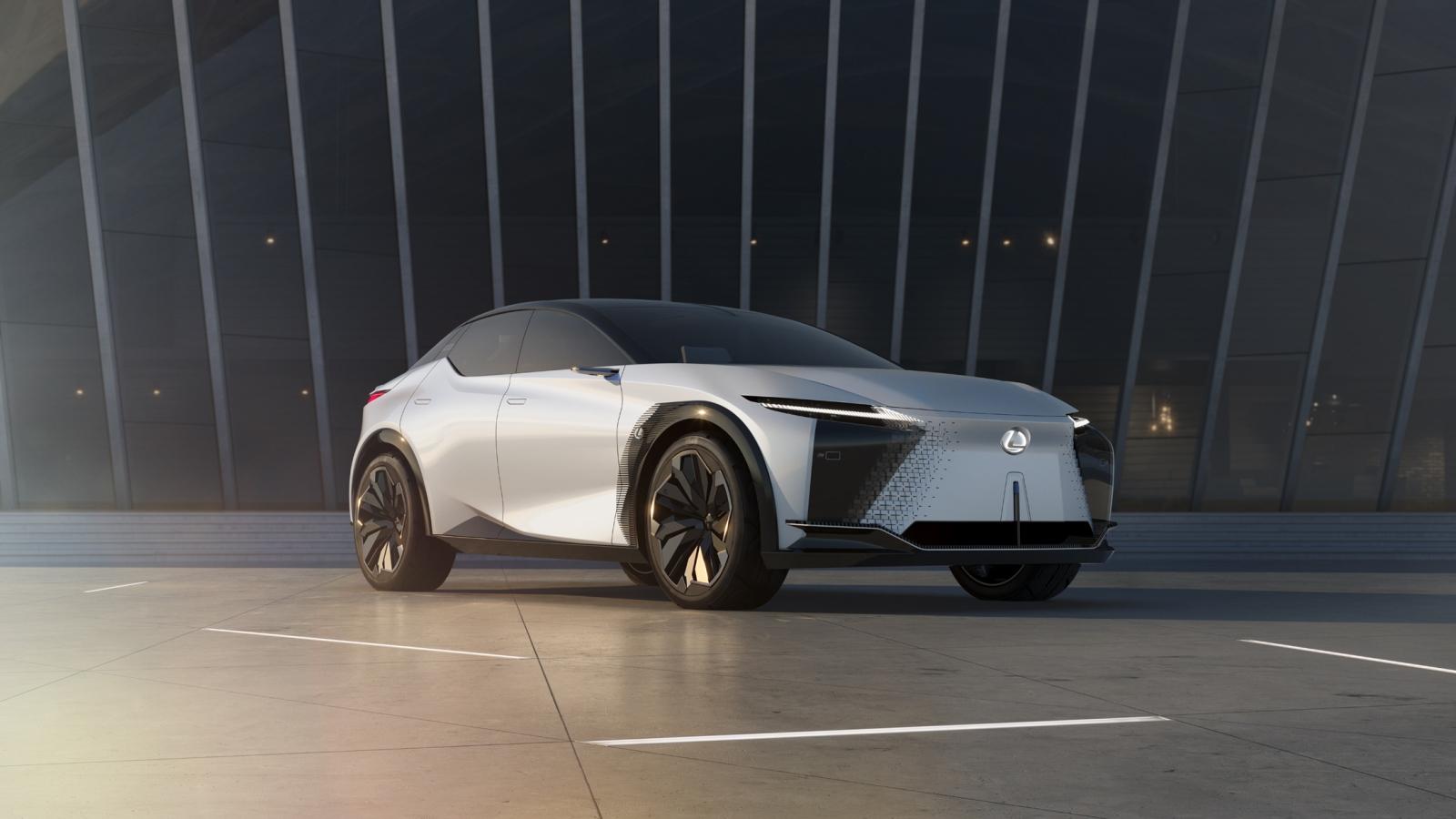 Khám phá những công nghệ của mẫu xe chạy điện tương lai - Lexus LF-Z Electrified