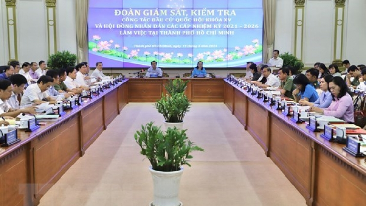 Ho Chi Minh City's preparations for elections examined