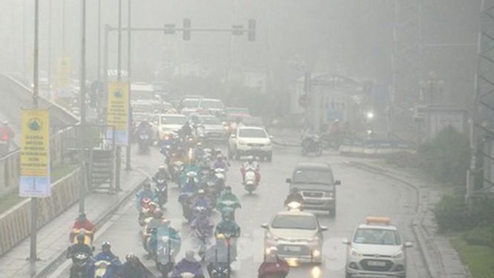 Thời tiết Chủ nhật, 11/4: Miền Bắc tăng nhiệt, có mưa phùn và sương mù
