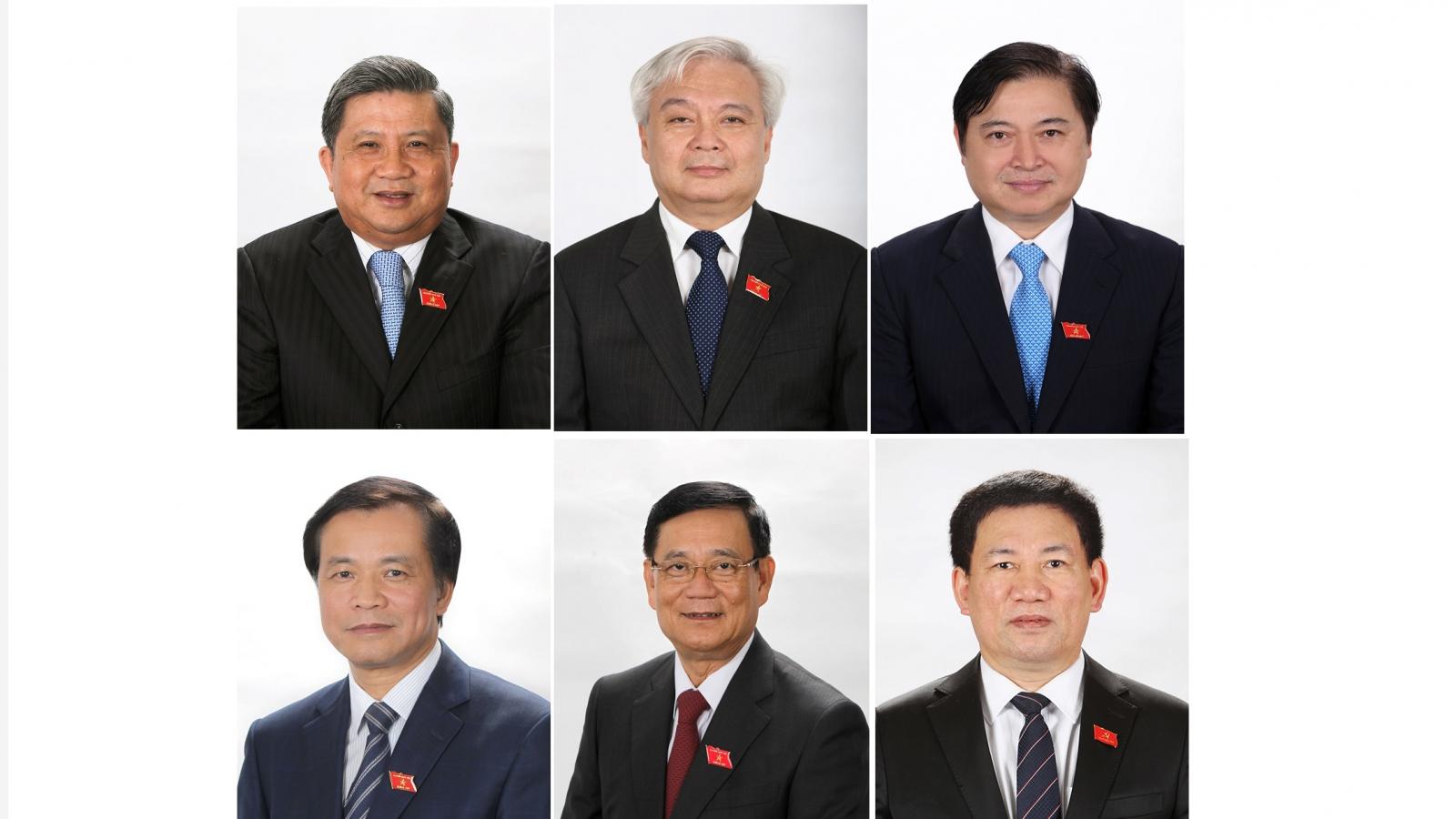 Quốc hội miễn nhiệm 5 Ủy viên Ủy ban Thường vụ Quốc hội và Tổng Kiểm toán