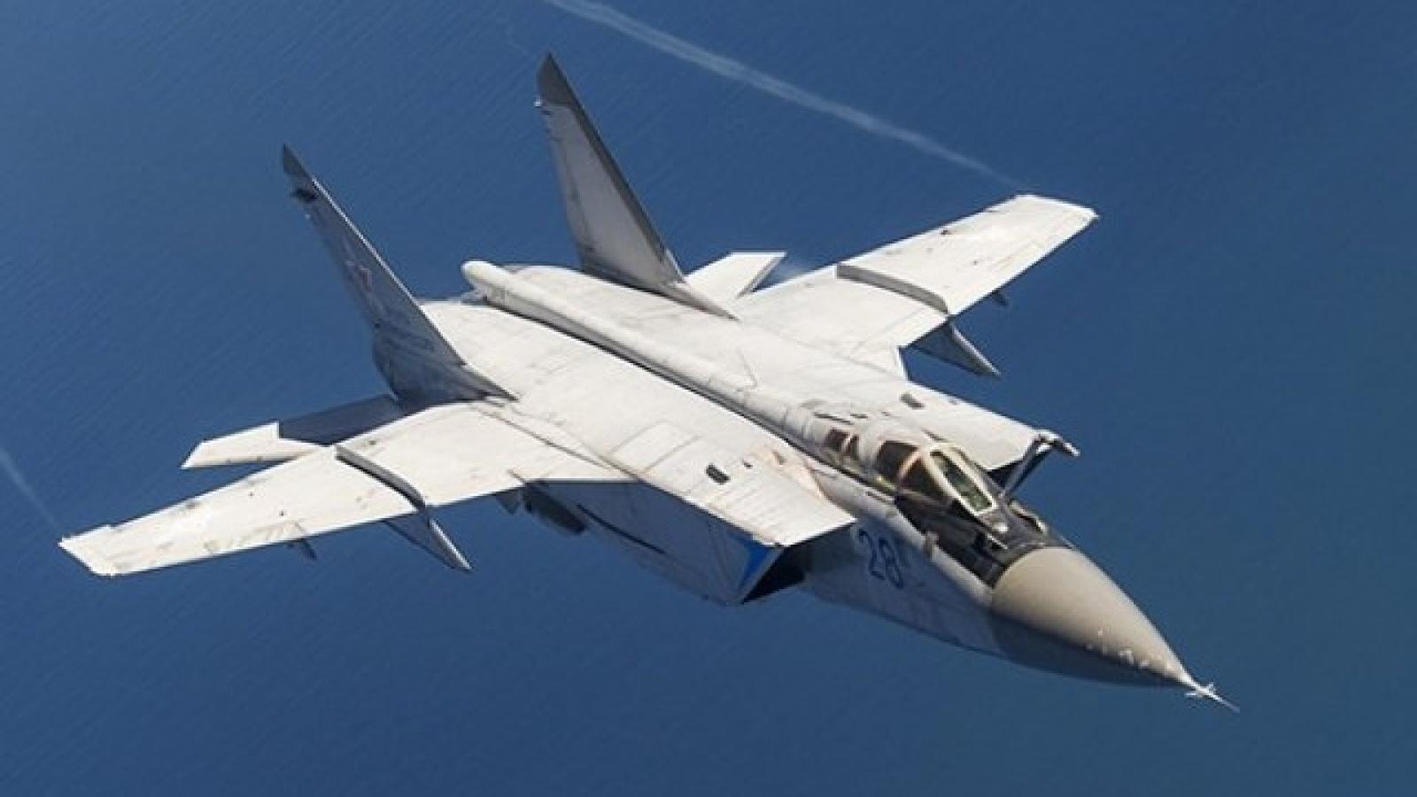 Chiến đấu cơ MiG-31 của Nga chặn máy bay quân sự của Mỹ và Na Uy trên biển Barents