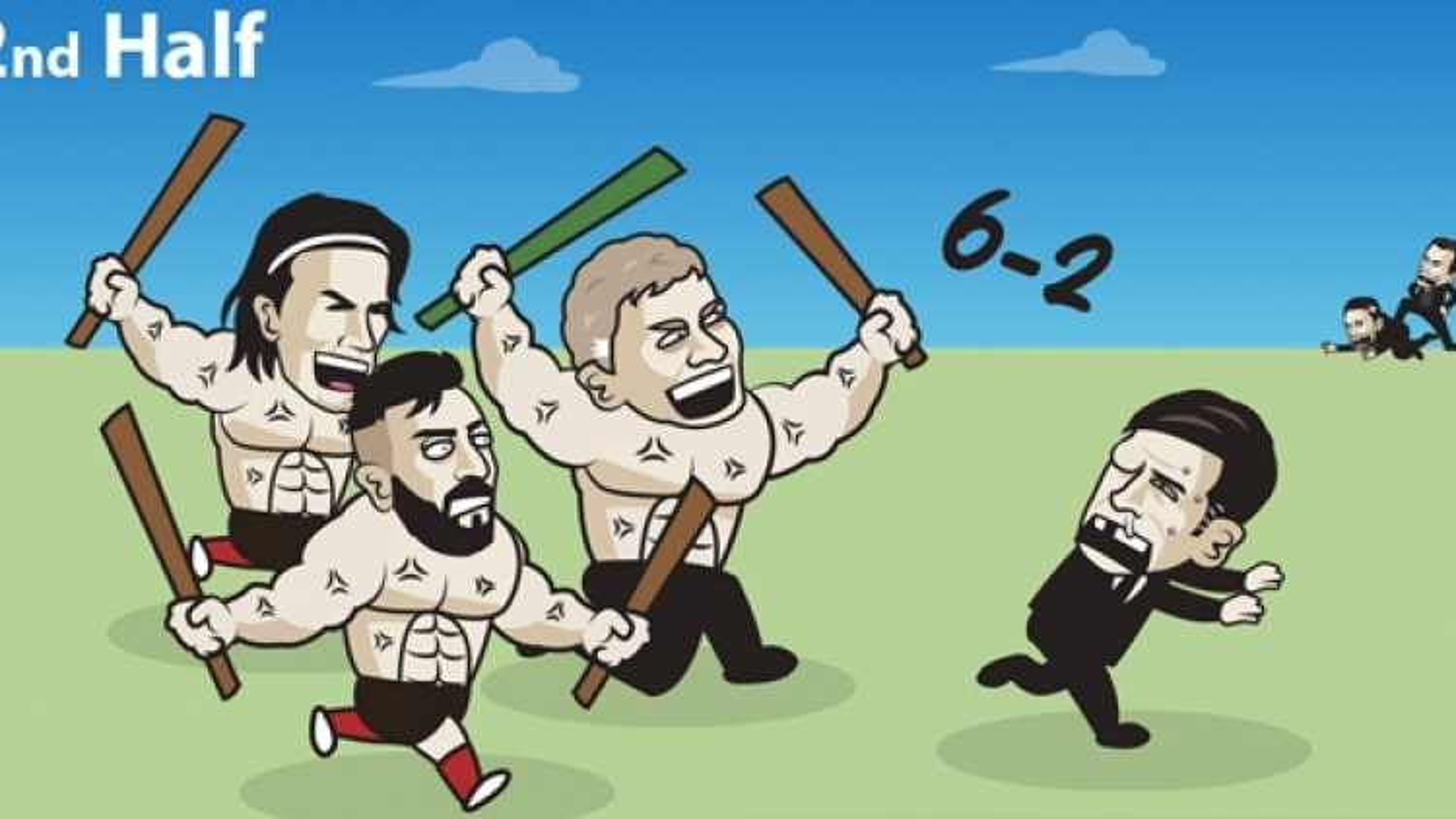 """Biếm họa 24h: MU """"giả vờ thua"""" AS Roma và cái kết lội ngược dòng"""