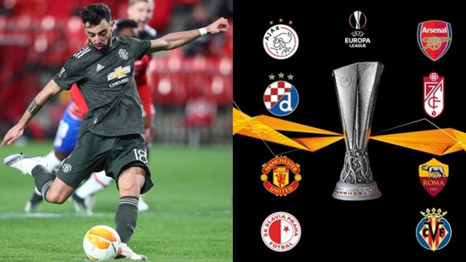 """MU """"nhuộm đỏ"""" đội hình hay nhất Europa League tuần này"""