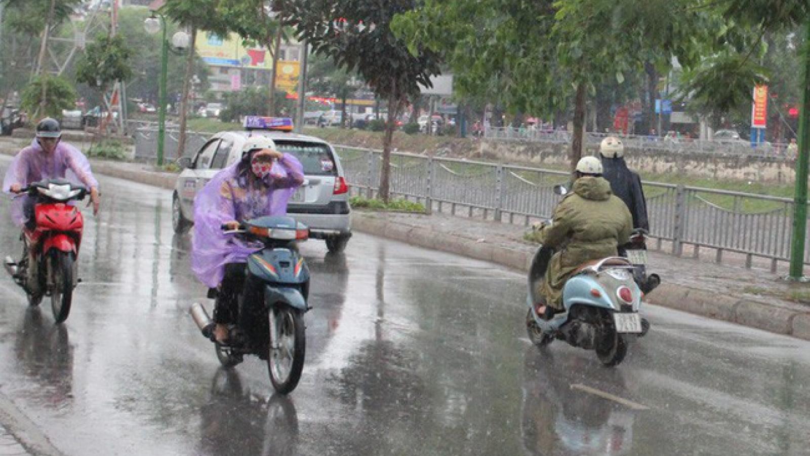 Thời tiết hôm nay 9/4: Mưa dông trên khu vực Hà Nội