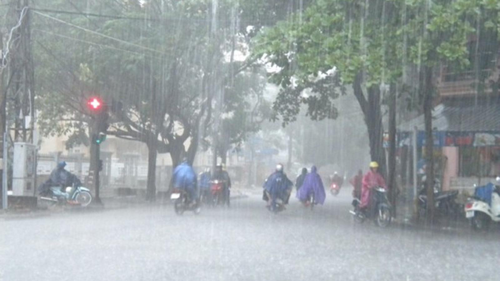 Thời tiết ngày 17/4: Bắc Bộ mưa to, đề phòng lốc, sét, mưa đá và gió giật mạnh
