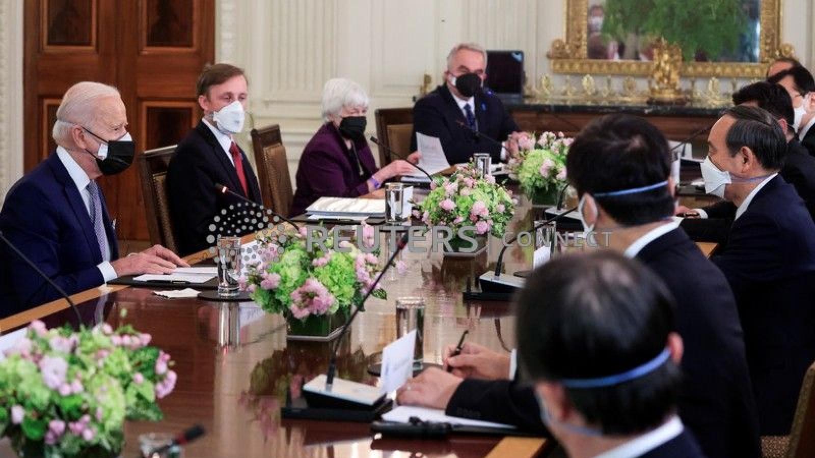 Tổng thống Mỹ - Nhật Bản họp báo chung