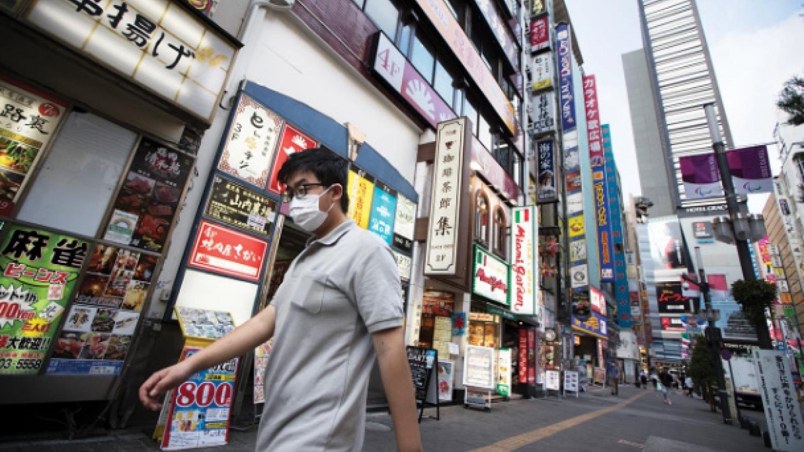 Làn sóng dịch bệnh mới có thể dập tắt hy vọng phục hồi kinh tế Nhật Bản