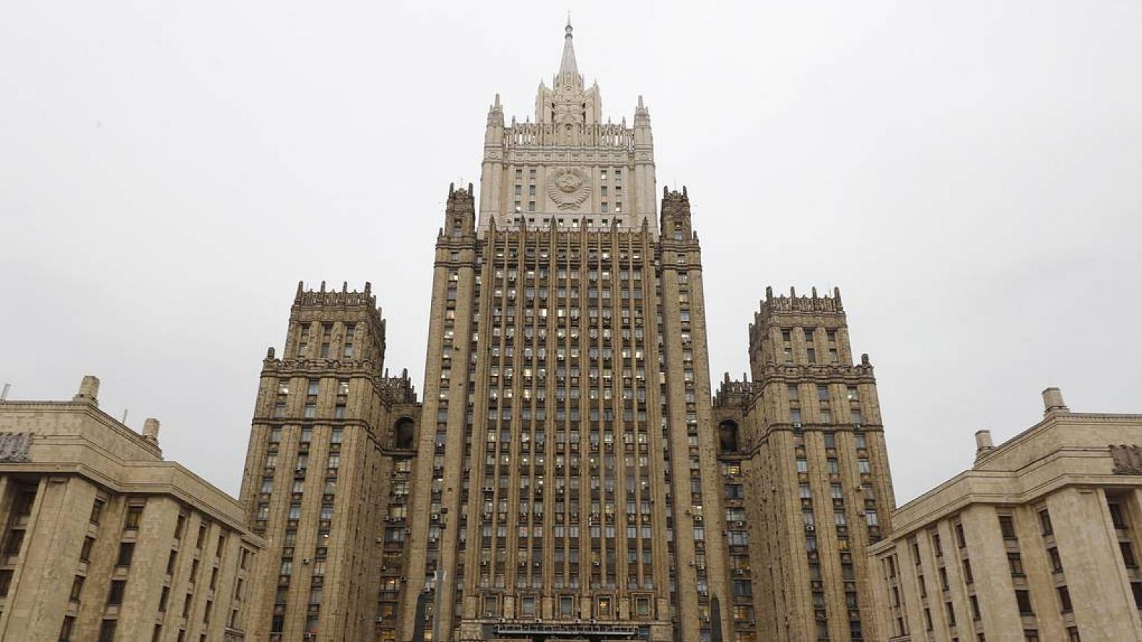 Bộ ngoại giao Nga khuyến nghị Tổng lãnh sự Ukraine tại St.Petersburg rời khỏi nước này