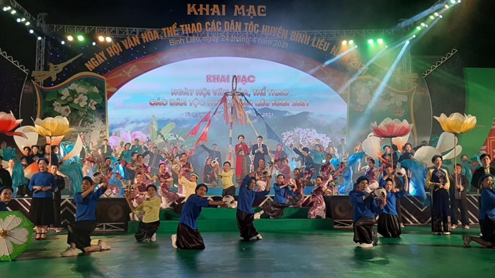 Ngày hội Văn hóa Thể thao các dân tộc huyện Bình Liêu, Quảng Ninh