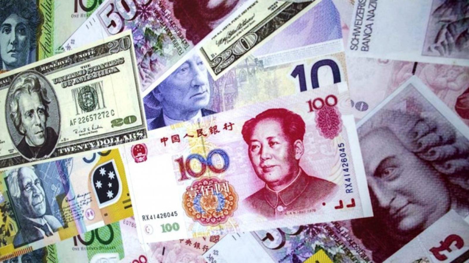 Trung Quốc giảm quy mô dự trữ ngoại hối