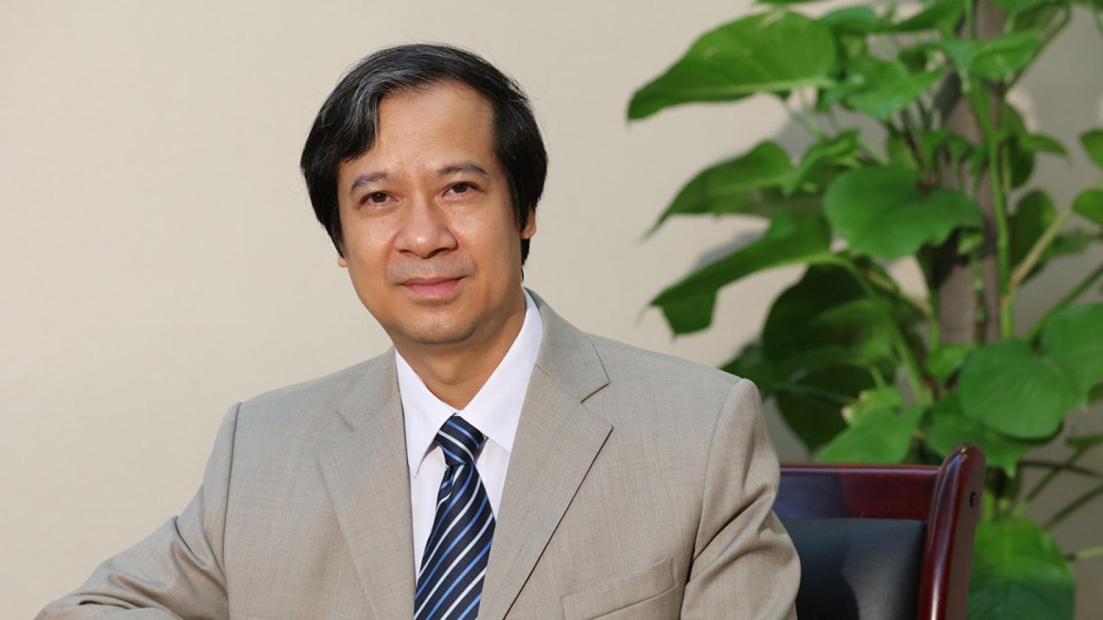 Quá trình công tác của ông Nguyễn Kim Sơn - Tân Bộ trưởng Bộ Giáo dục và Đào tạo