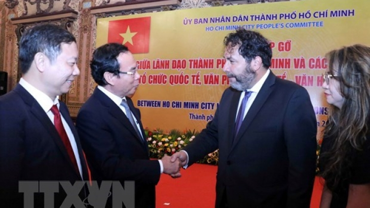 HCM City beefs up cooperation with foreign partners