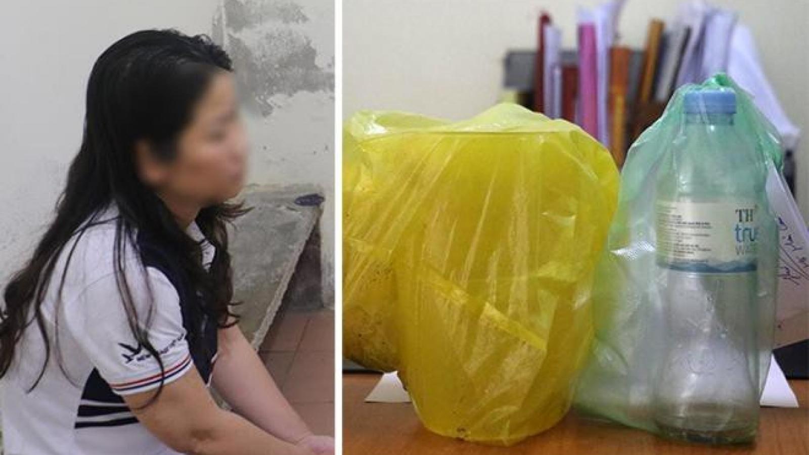 Nghi phạm tạt ca chất lỏng nghi a xít vào người phụ nữ bị bắt trên đường trốn chạy