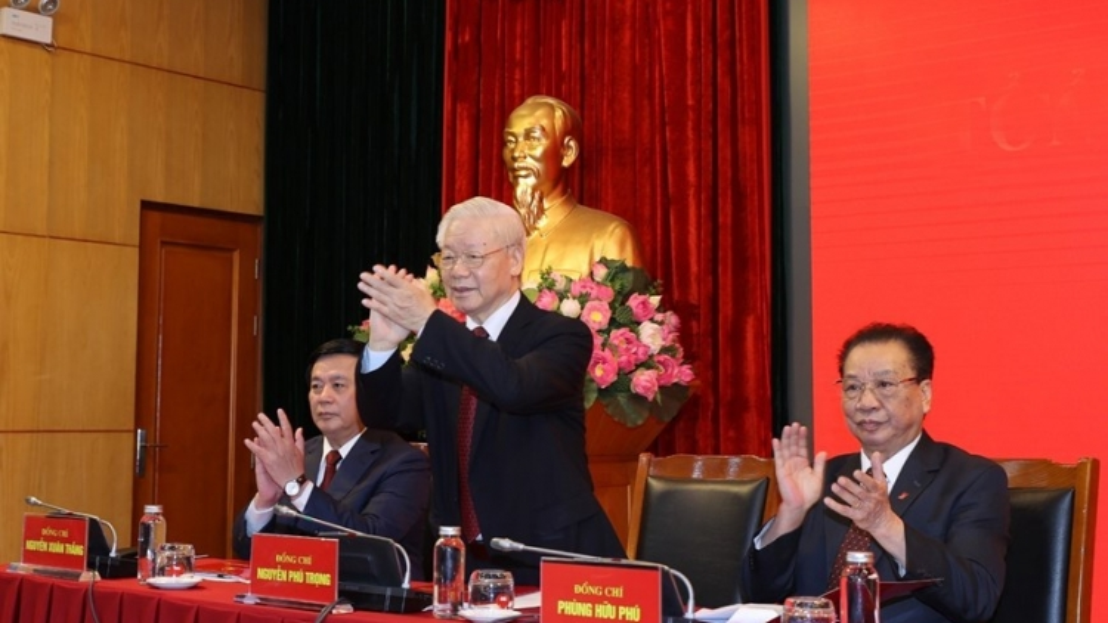Tổng Bí thư Nguyễn Phú Trọng dự Hội nghị tổng kết Hội đồng Lý luận T.Ư