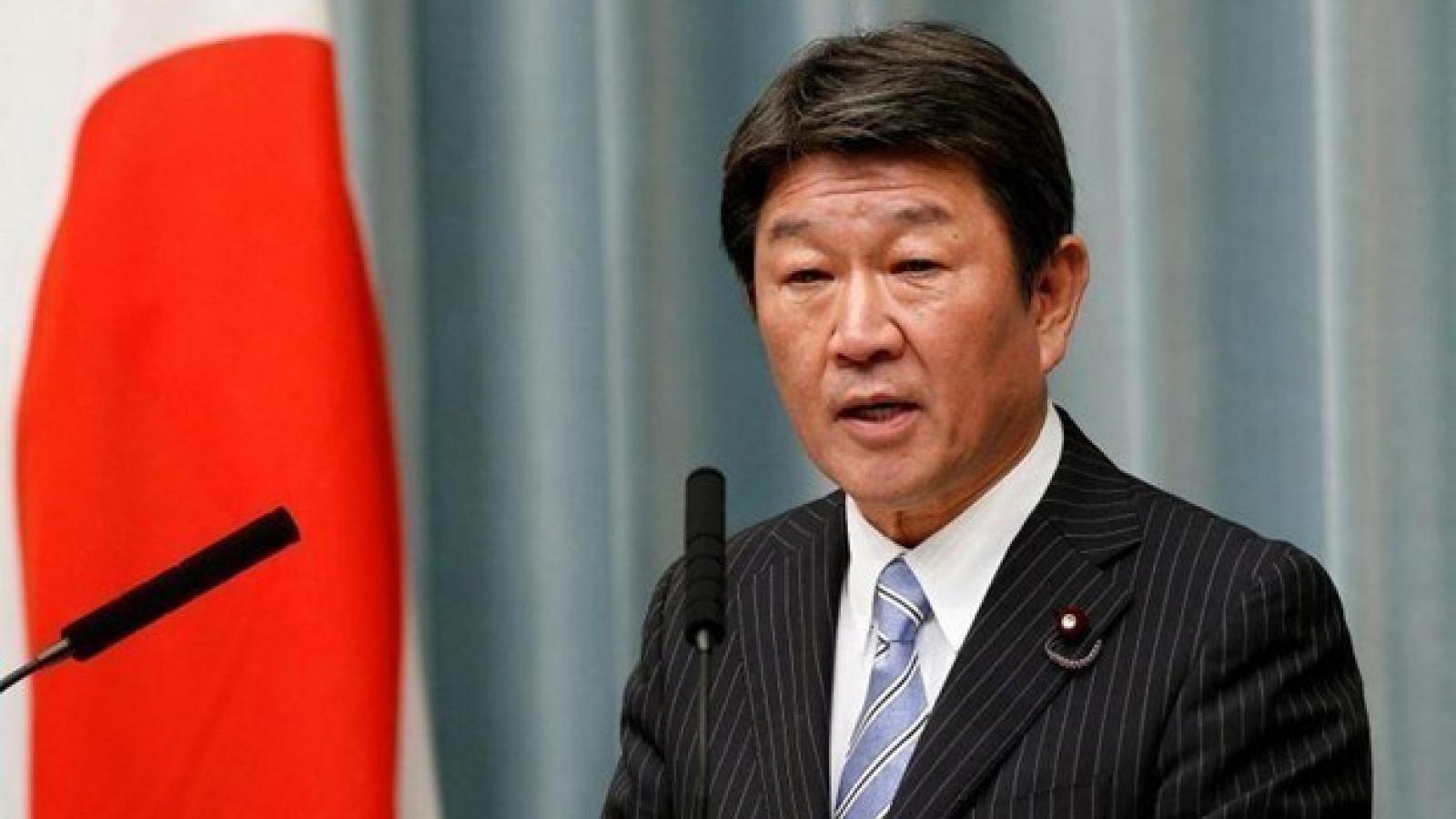 Ngoại trưởng Nhật Bản nêu quan ngại về luật hải cảnh của Trung Quốc