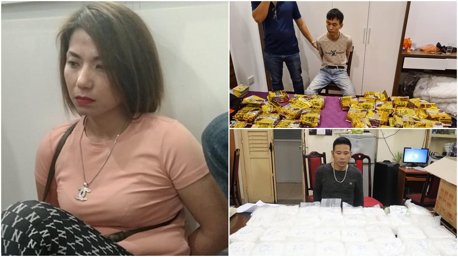 """Bắt giữ """"bà trùm"""" đường dây ma túy hoạt động ở chung cư cao cấp tại Hà Nội"""