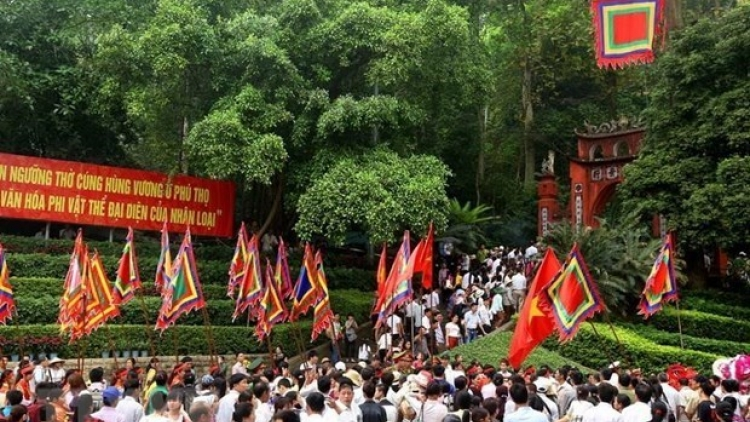 COVID-19 prevention prioritised at Hung Kings Temple Festival