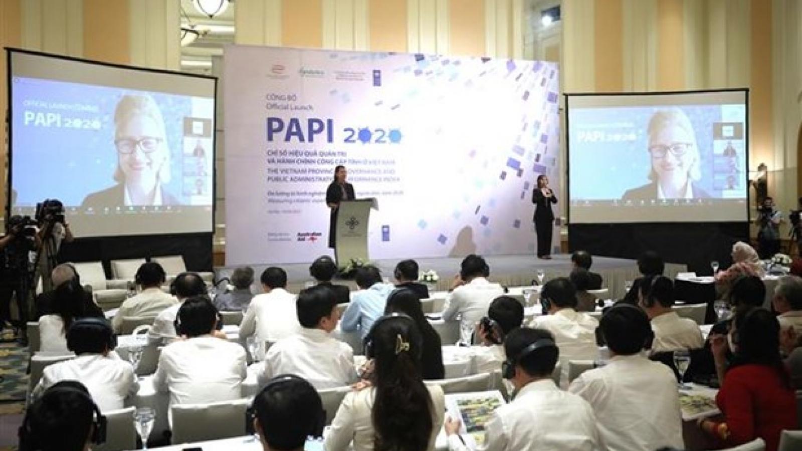 Corruption control tops 2020 PAPI report