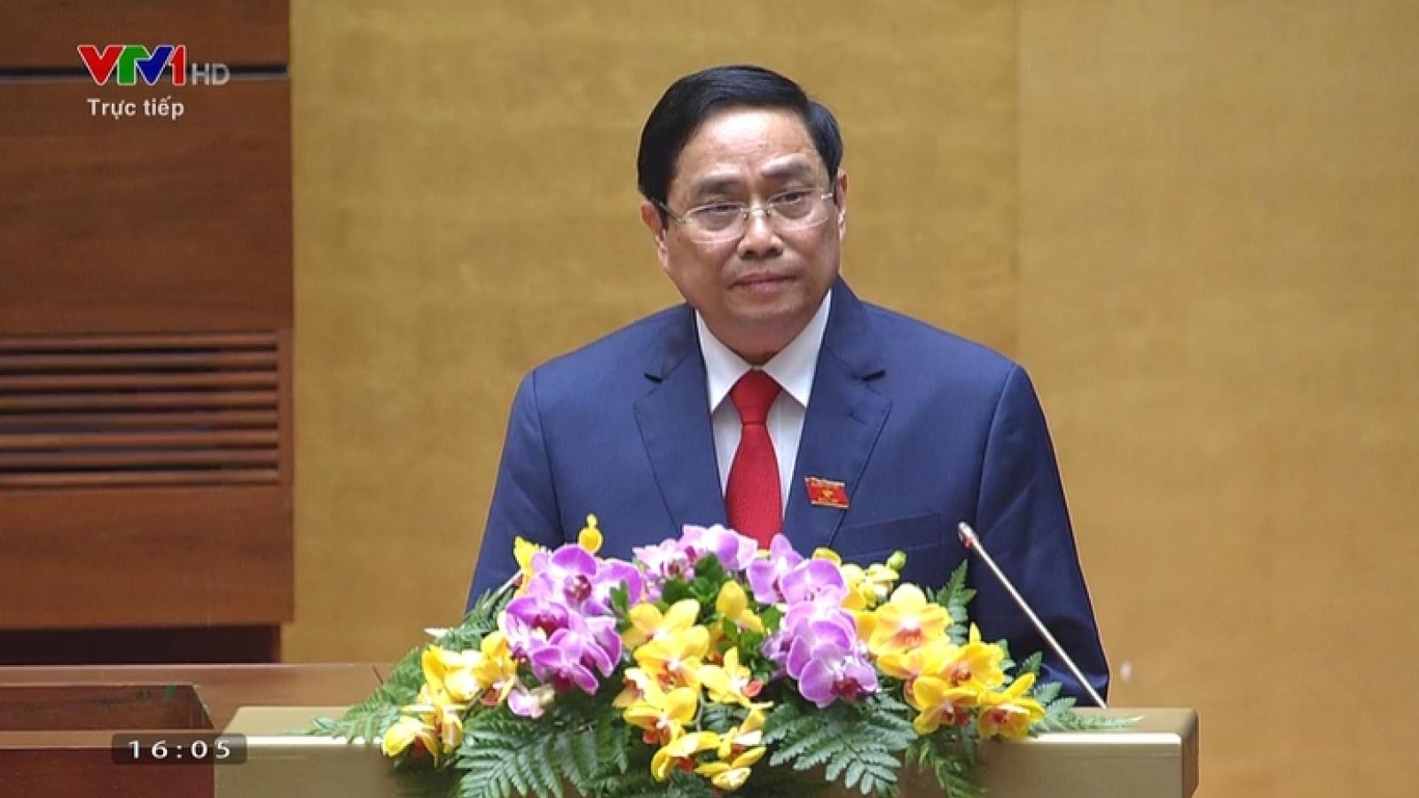 Bài phát biểu nhậm chức của tân Thủ tướng Phạm Minh Chính