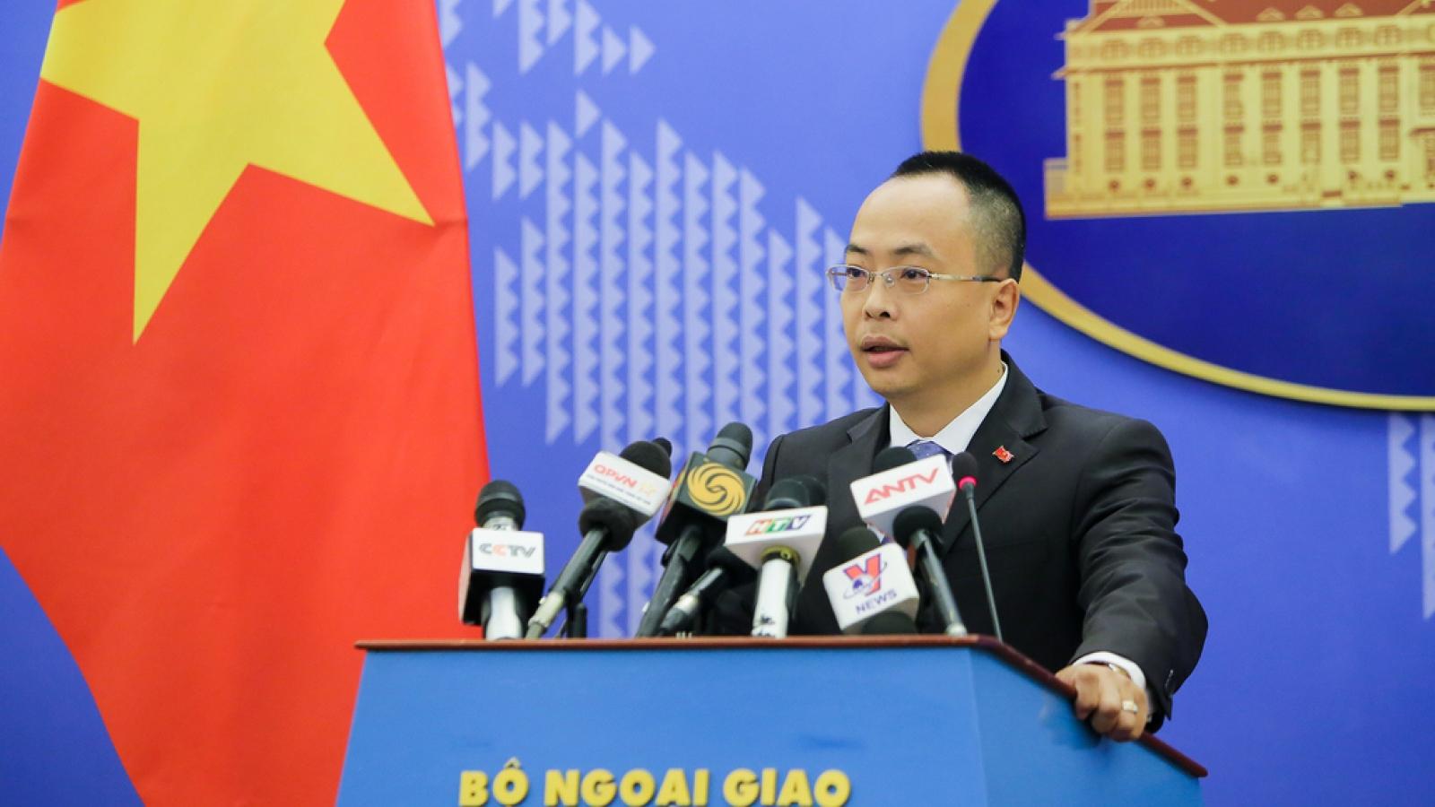 Việt Nam kiên quyết bác bỏ quyết định cấm đánh bắt của Trung Quốc trên Biển Đông