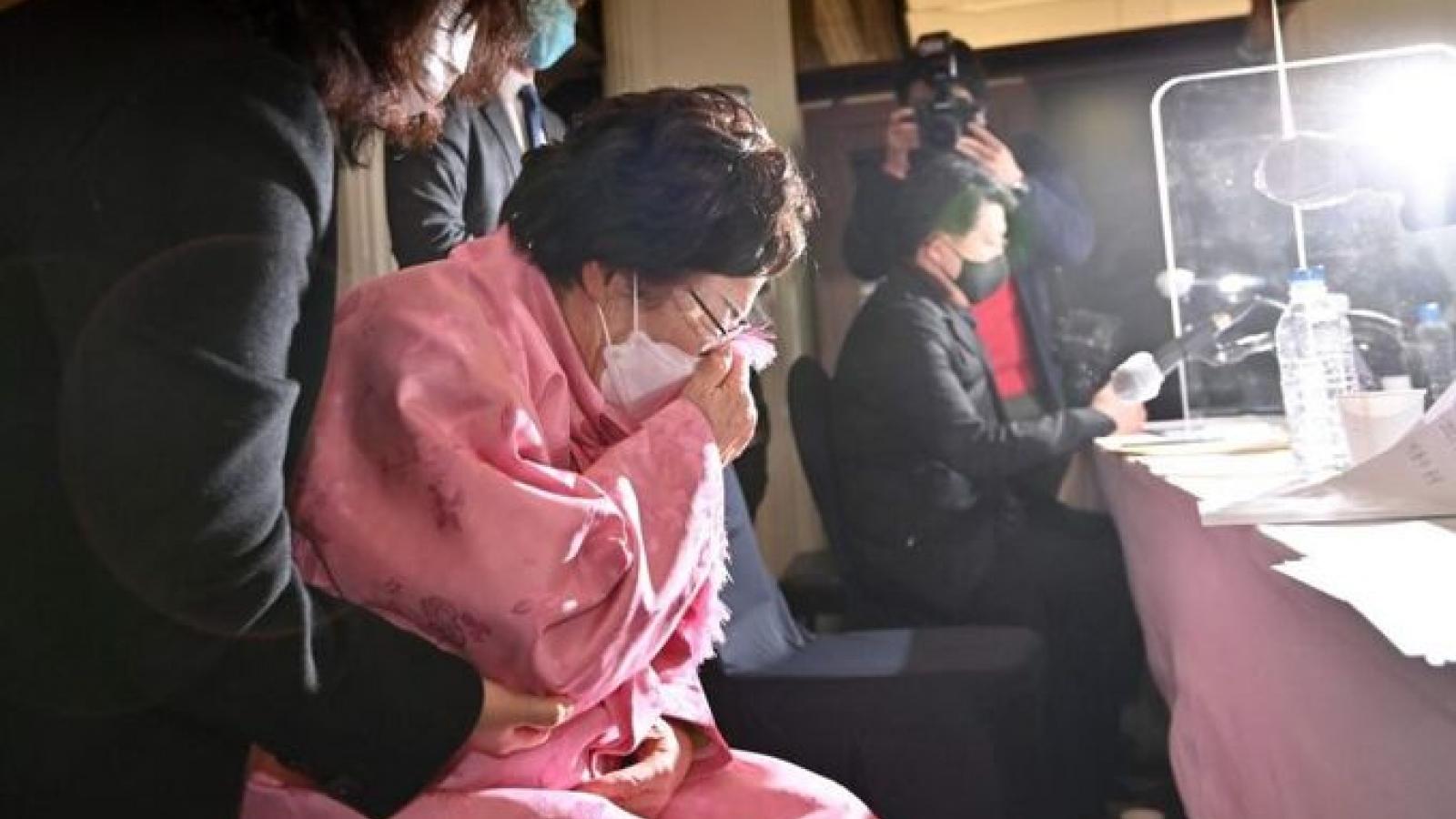 """Tòa án Hàn Quốc bác bỏ vụ kiện Nhật Bản của nhóm """"phụ nữ mua vui"""""""