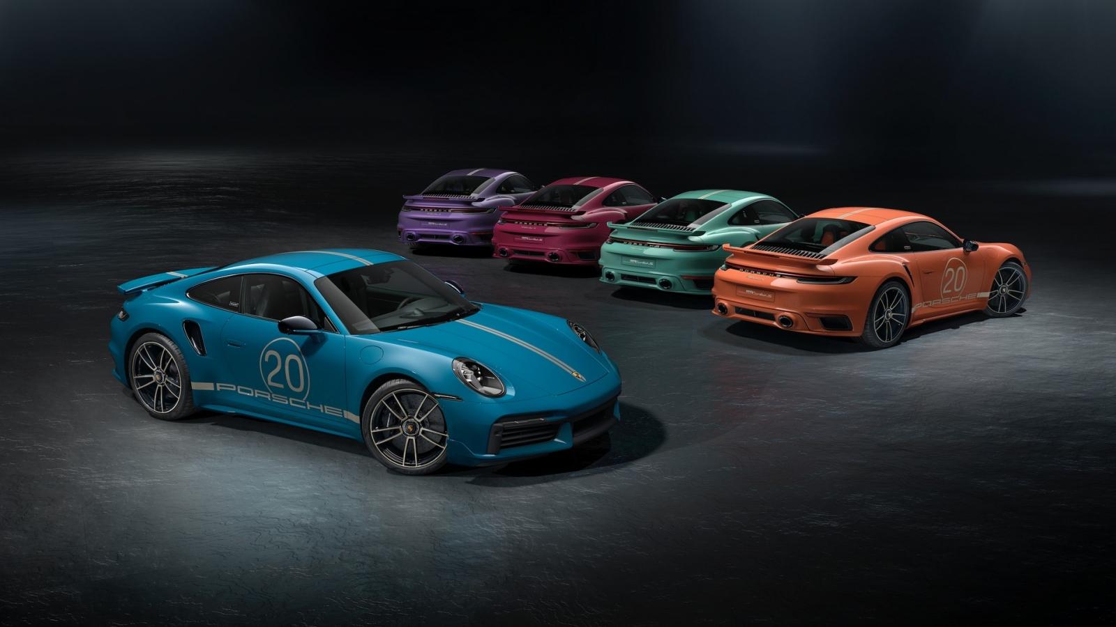 Porsche kỷ niệm 20 năm có mặt tại Trung Quốc bằng bản đặc biệt của 911 Turbo S