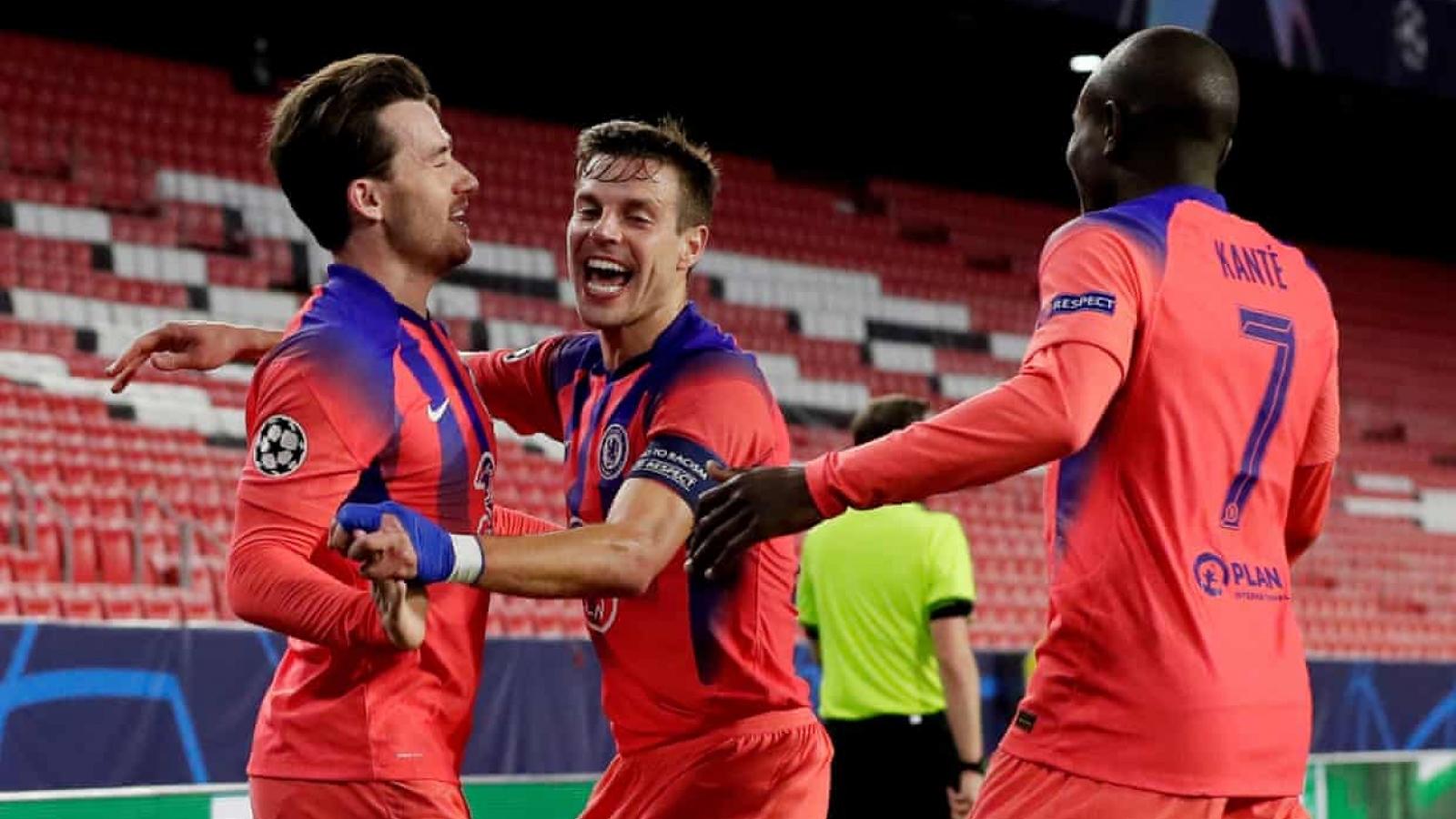 Mason Mount và Ben Chilwell ghi bàn đẳng cấp, Chelsea hạ đẹp Porto