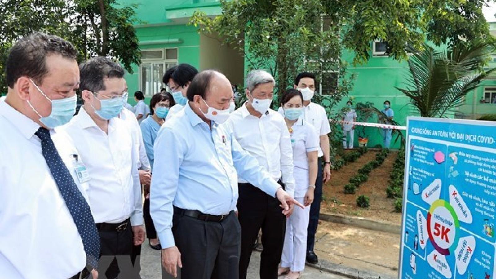 State President demands maximum efforts to sustain anti-COVID-19 achievements