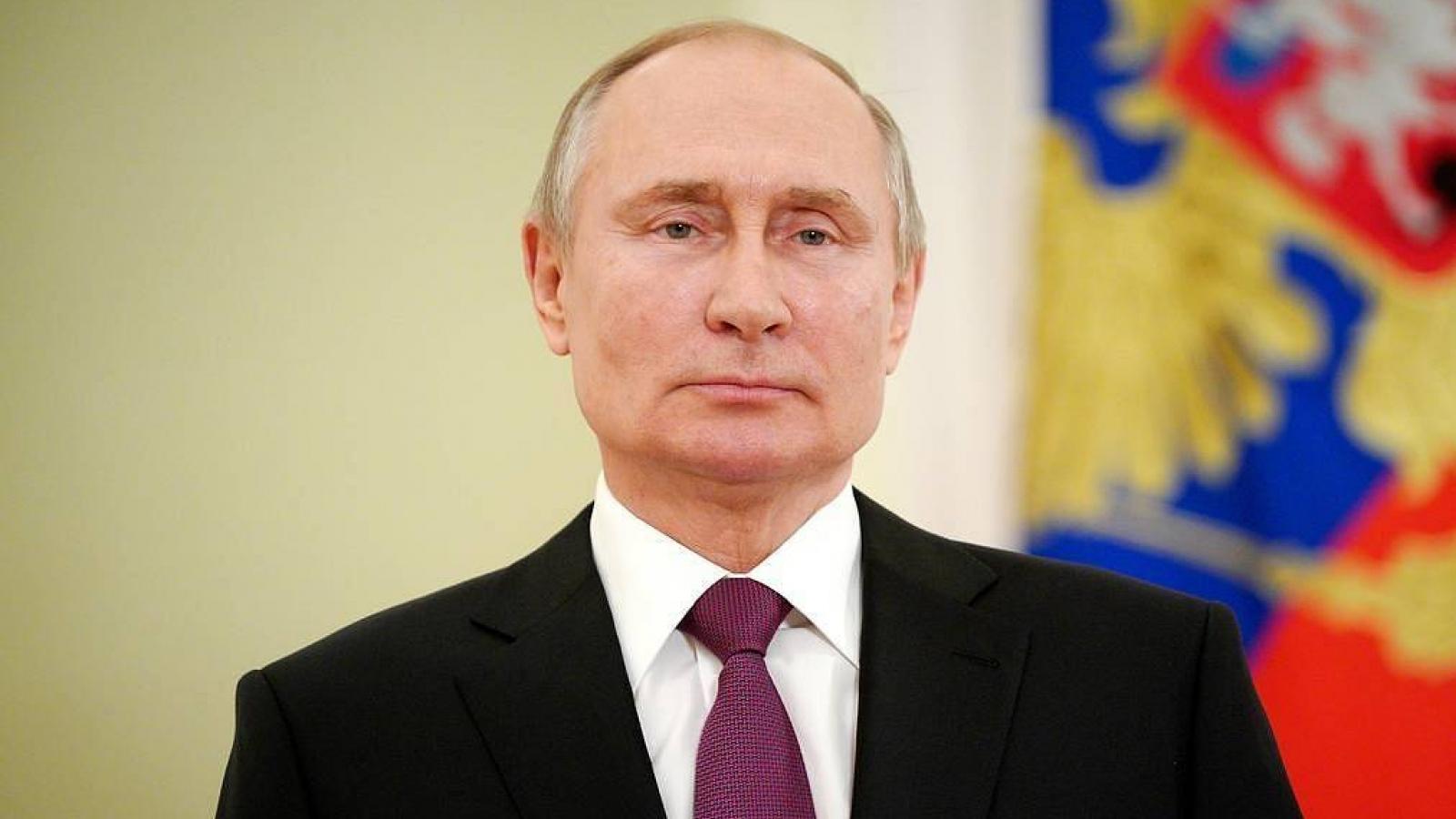 Trực tiếp: Tổng thống Nga V.Putin đọc thông điệp liên bang năm 2021