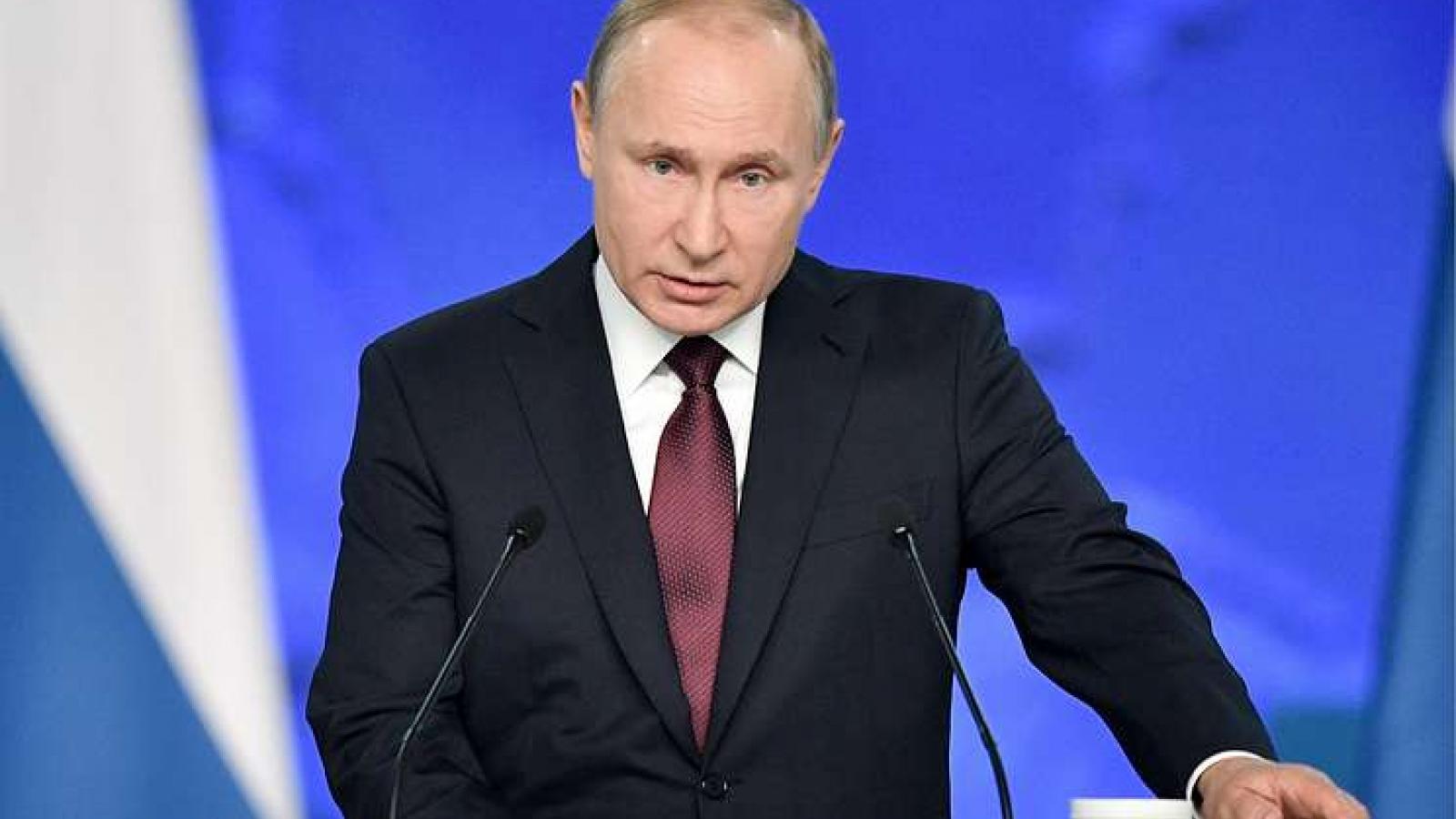 Thông điệp liên bang thể hiện rõ tầm nhìn đối nội, đối ngoại của nước Nga