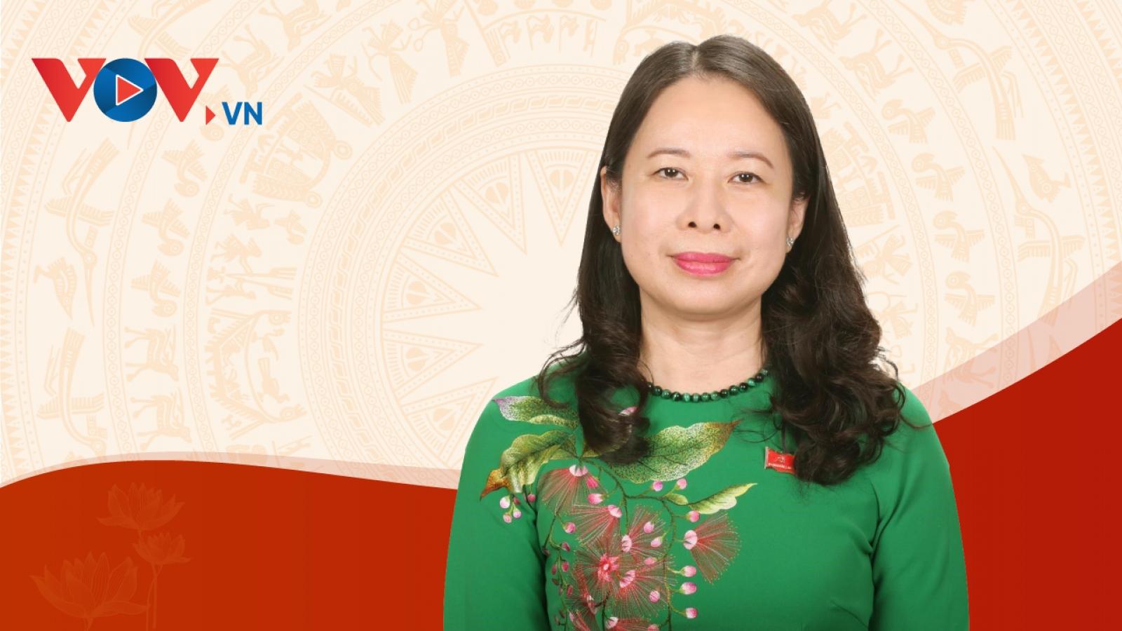 Quá trình công tác của Phó Chủ tịch nước Võ Thị Ánh Xuân