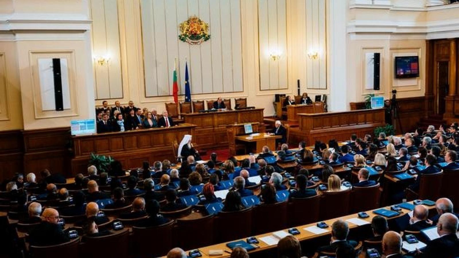 Bulgaria công bố kết quả chính thức cuộc bầu cử Quốc hộilần thứ 45