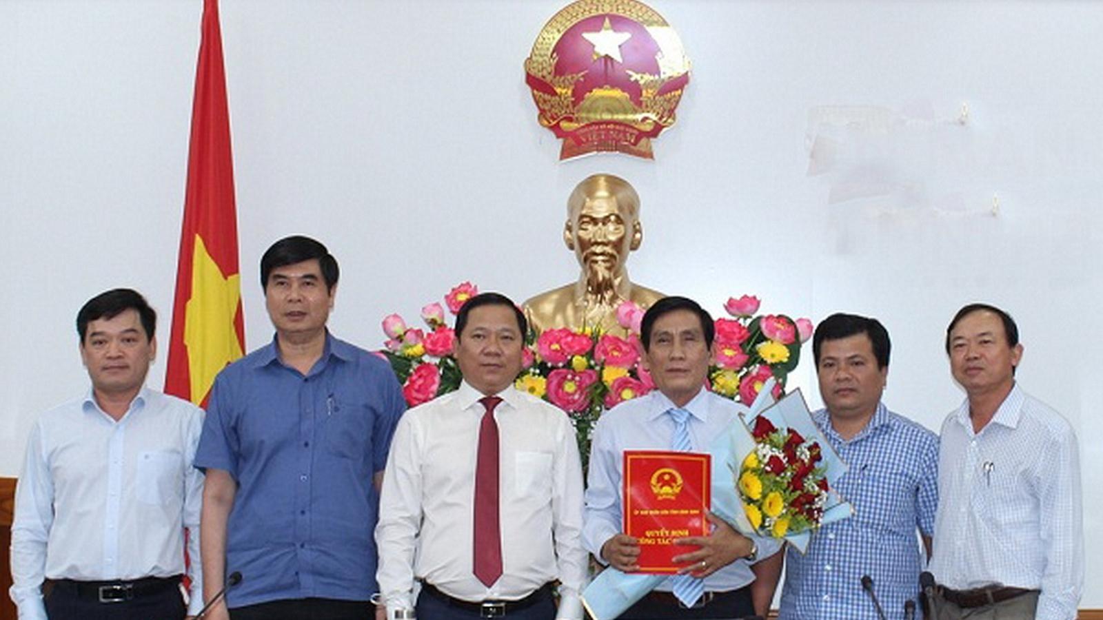 Bình Định bổ nhiệm Giám đốc Sở Giao thông Vận tải