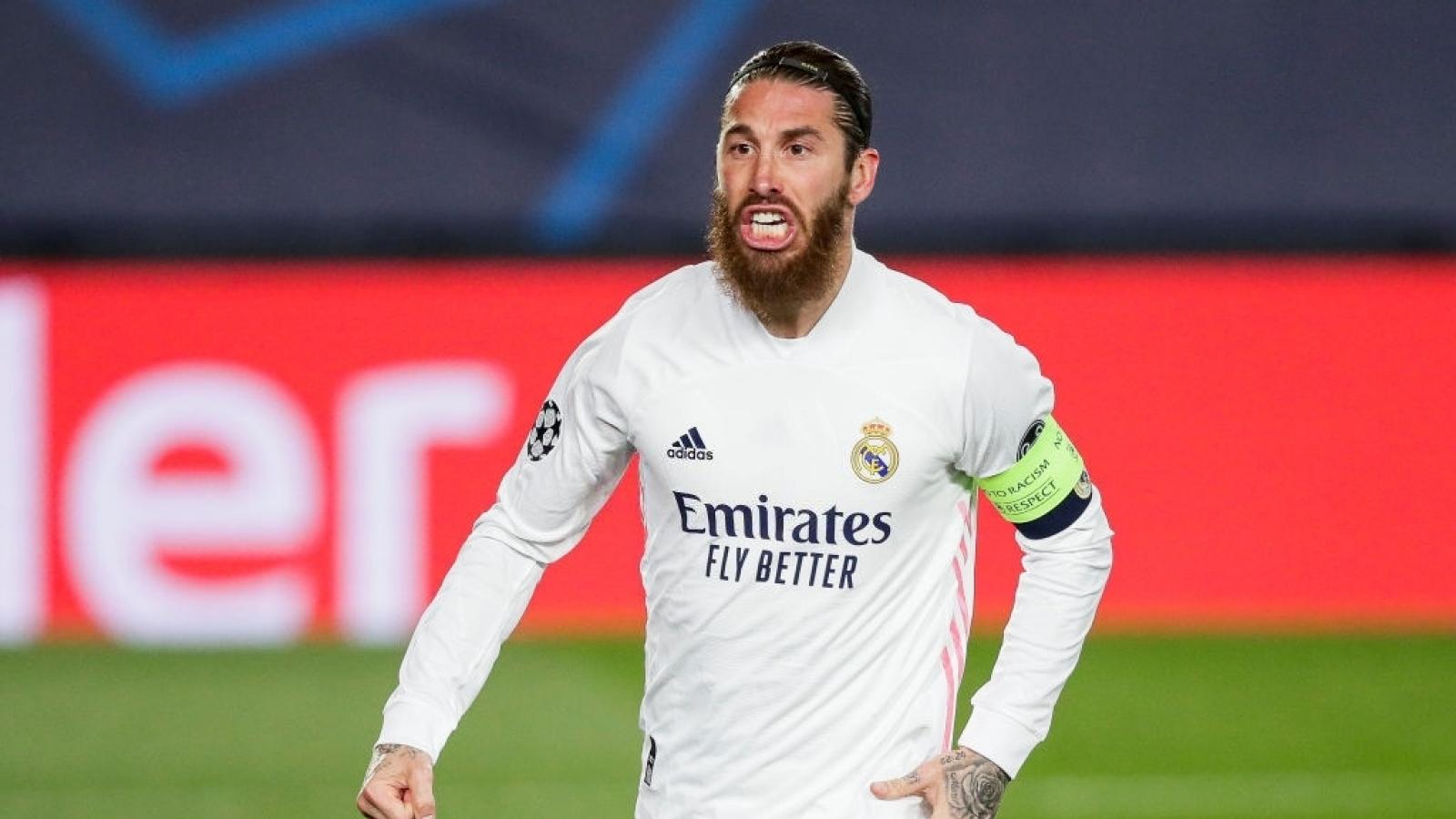 Không đồng ý giảm lương, Ramos trên đường rời Real Madrid