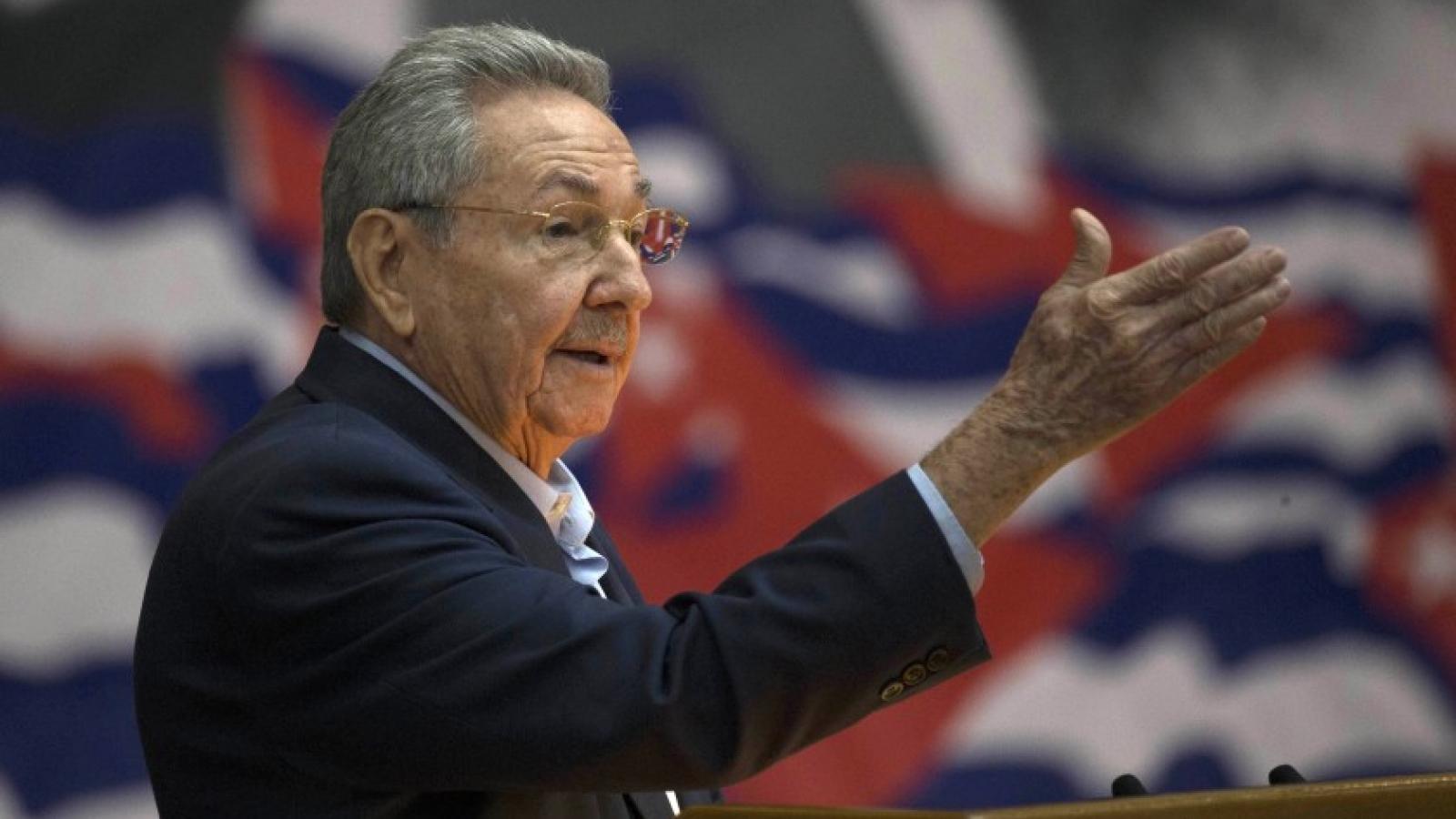 Ông Raúl Castro: Cuba sẽ có ban lãnh đạo mới tràn đầy nhiệt huyết