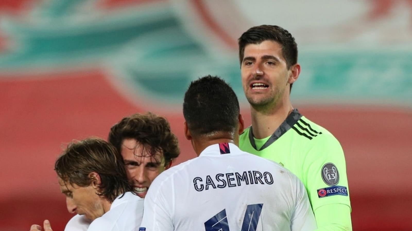 Real Madrid tiễn Liverpool rời Champions League, gặp Chelsea ở bán kết