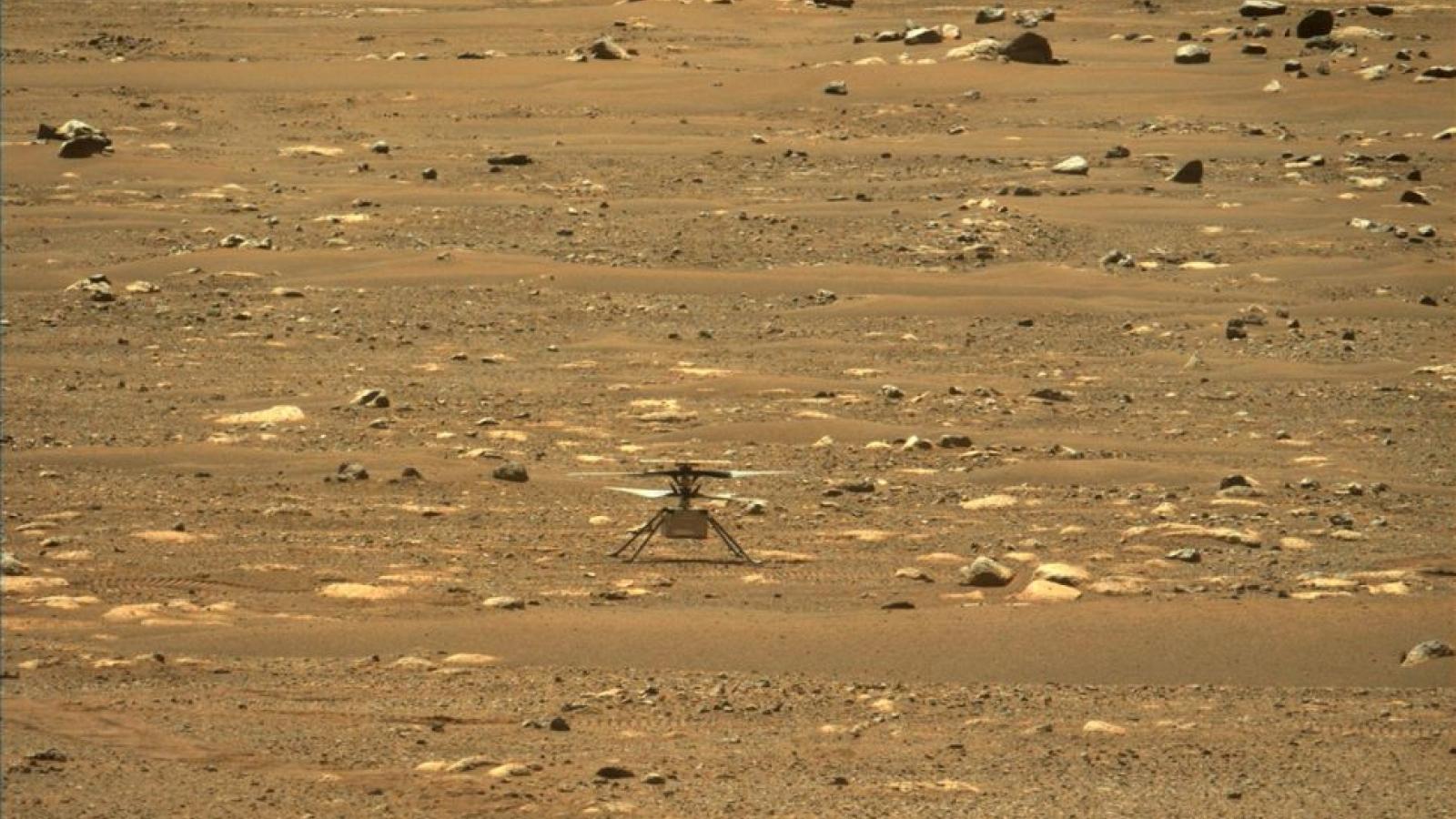 NASA thực hiện chuyến bay trực thăng đầu tiên trên sao Hỏa