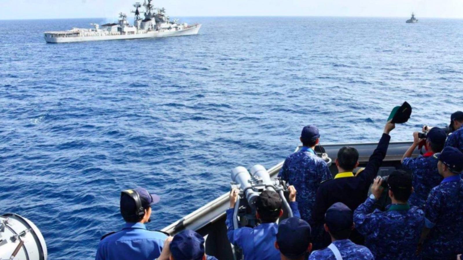 Nhóm Bộ Tứ tập trận chung với Pháp: Hé lộ kế hoạch đối phó Trung Quốc?