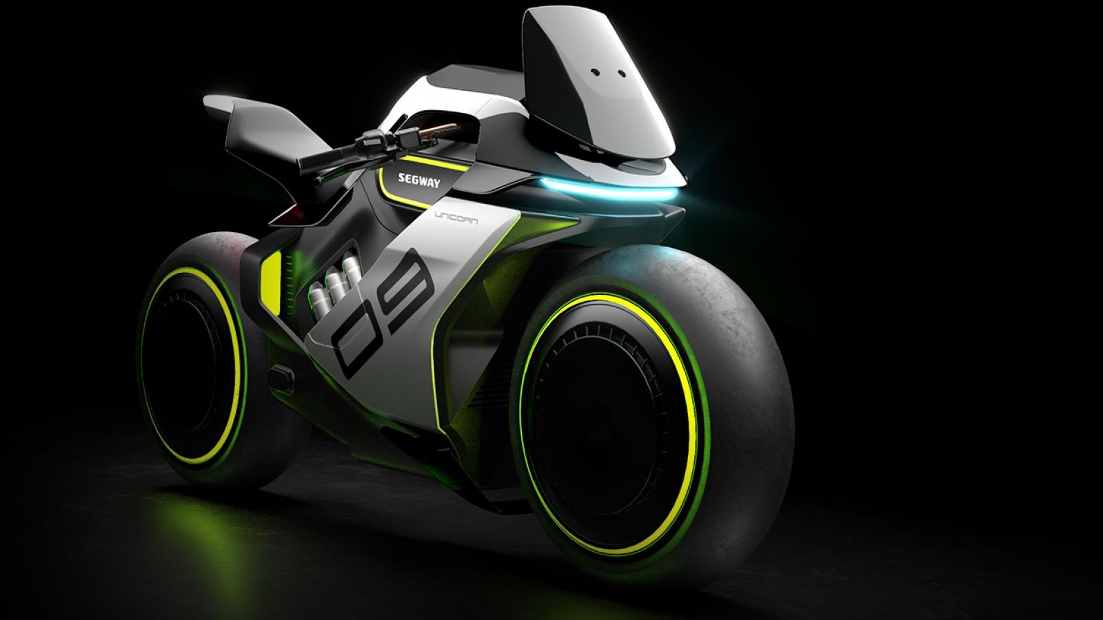 Segway ra mắt chiếc xe của tương lai Apex H2
